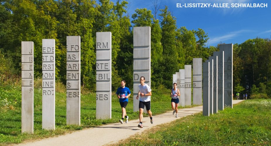 Die El-Lissitzky-Allee, Schwalbach
