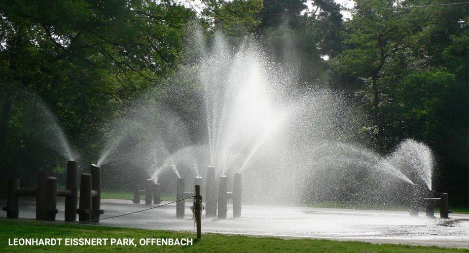 Leonhardt Eissnert Park Offenbach