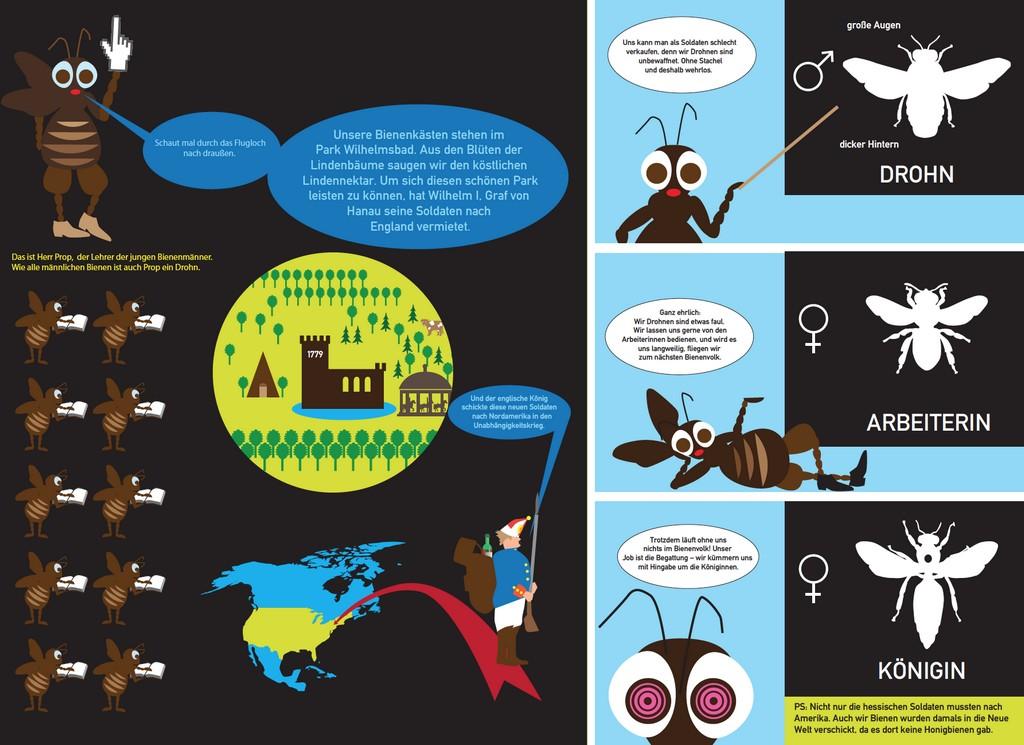graphic novels wanderbienen