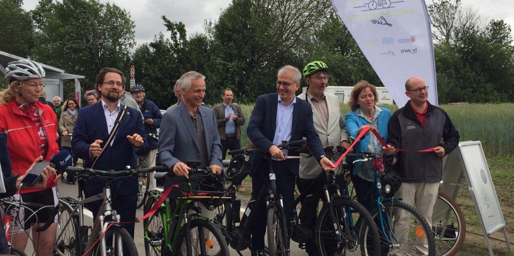 Eröffnung Radschnellweg Egelsbach (32)